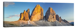 Obraz na płótnie  The three pinnacles, Dolomites - Rainer Mirau