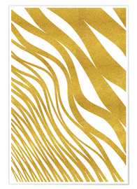 Plakat Golden Wave