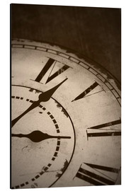 Obraz na aluminium  picture of an old vintage clock