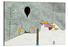 Obraz na aluminium  Winter picture - Paul Klee