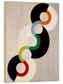 Obraz na drewnie  Endless rhythm - Robert Delaunay