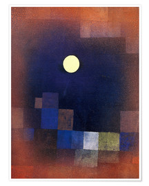 Plakat  Moonrise - Paul Klee