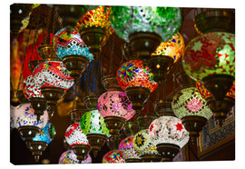 Obraz na płótnie  Traditional turkish lamps