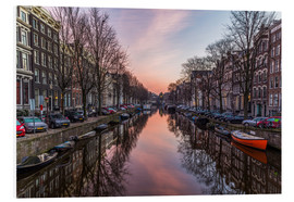 Obraz na PCV  Amsterdam Canals at Sunrise - Mike Clegg Photography
