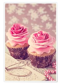Plakat Two cupcakes