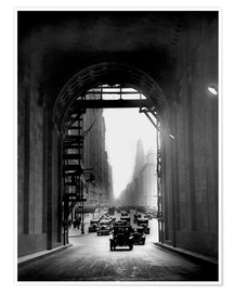 Plakat Arch at Grand Central Station - historical