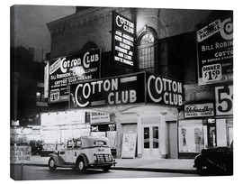 Obraz na płótnie  Cotton Club in Harlem, New York