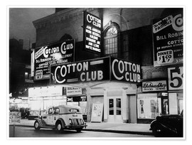 Plakat  Cotton Club in Harlem, New York