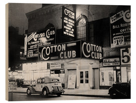 Obraz na drewnie  Cotton Club in Harlem, New York