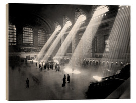Obraz na drewnie  Historical Grand Central Station