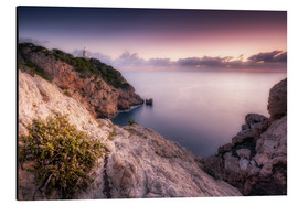 Obraz na aluminium  Morning light at the lighthouse Cala Ratjada / Capdepera (Majorca / Spain) - Kristian Goretzki