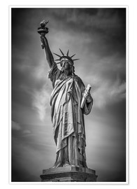 Plakat NEW YORK CITY Statue of Liberty