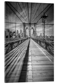 Obraz na szkle akrylowym  Brooklyn Bridge, New York City - Melanie Viola