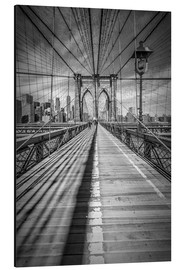 Obraz na aluminium  Brooklyn Bridge, New York City - Melanie Viola