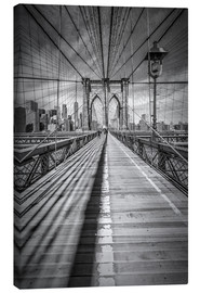 Obraz na płótnie  Brooklyn Bridge, New York City - Melanie Viola