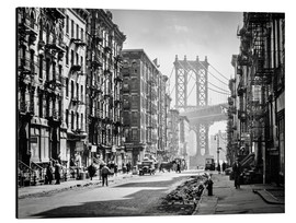 Obraz na aluminium  Historic New York: Pike and Henry Streets, Manhattan - Christian Müringer