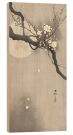 Obraz na drewnie  Plum Blossoms at Night - Ohara Koson