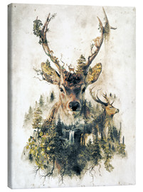 Obraz na płótnie  Deer nature, surrealism - Barrett Biggers