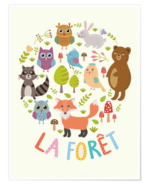 Plakat The Forest (French)