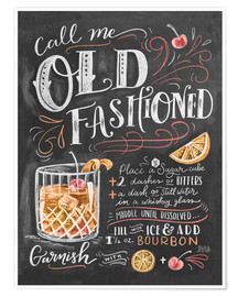 Plakat  Old fashioned recipe - Lily & Val