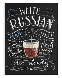 Plakat white russian