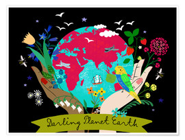 Plakat Darling Planet Earth