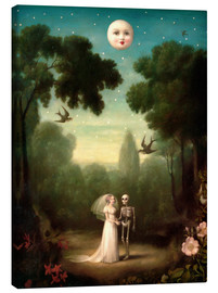 Obraz na płótnie  The dowry of the moon - Stephen Mackey