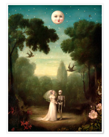 Plakat  The dowry of the moon - Stephen Mackey