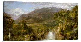 Obraz na płótnie  Heart of the Andes - Frederic Edwin Church