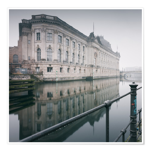 Plakat Bode Museum Berlin in winter