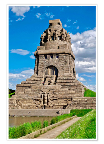 Plakat The Monument to the Battle of the Nations