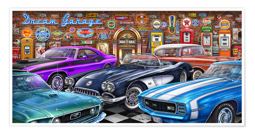 Plakat Dream Garage II