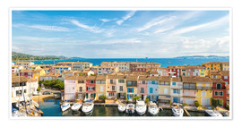 Plakat Port Grimaud in the Gulf of St. Tropez