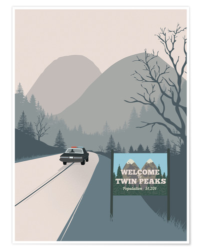 Plakat Welcome to Twin Peaks