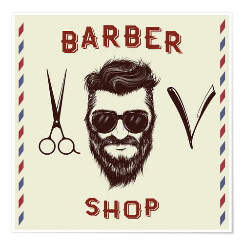 Plakat Barber Shop