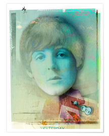 Plakat  paul mccartney - Daniel Matzenbacher