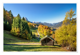 Plakat Autumn in Upper Bavaria