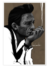 Plakat johnny cash