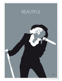 Plakat Christina Aguilera - Beautiful