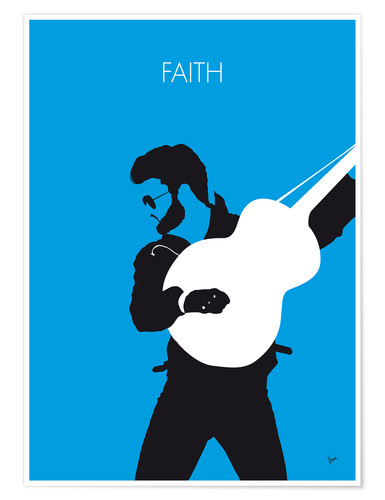 Plakat George Michael - Faith