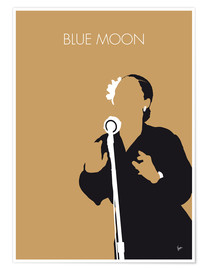 Plakat Billie Holiday - Blue Moon
