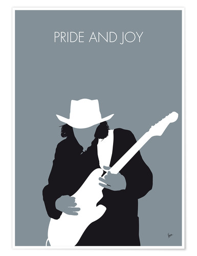 Plakat Stevie Ray Vaughan - Pride And Joy