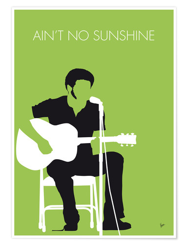 Plakat Bill Withers - Ain't No Sunshine