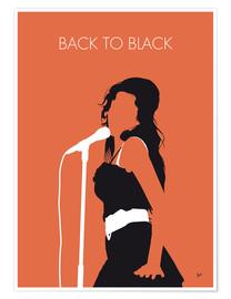 Plakat Amy Winehouse - Back To Black