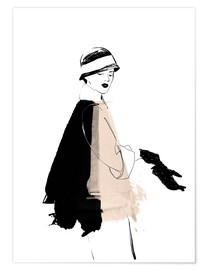 Plakat Fashion illustration 1920s