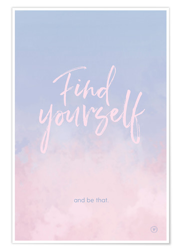 Plakat Find yourself