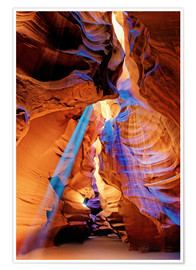 Plakat Upper Antelope Canyon Beam