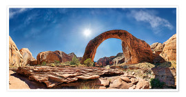 Plakat Rainbow Bridge, Lake Powell, USA
