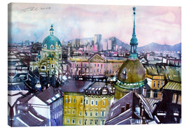 Obraz na płótnie  Vienna, view to the Karls church - Johann Pickl
