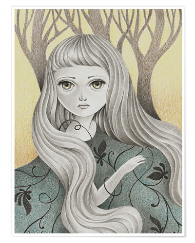 Plakat Ghost of the Forest
